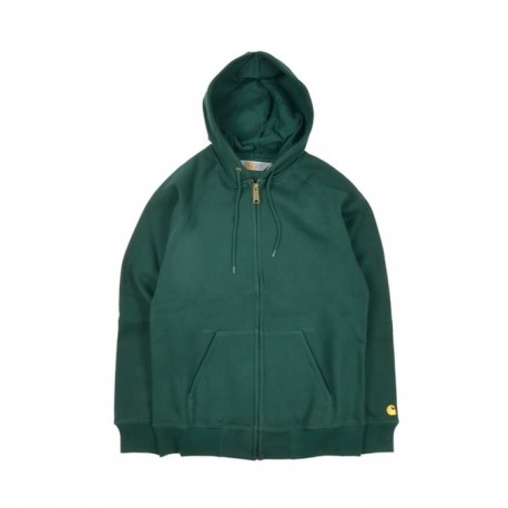 SWEAT CARHARTT WIP CHASE ZIP - CONIFER
