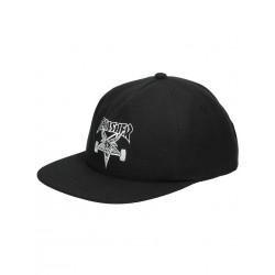 CASQUETTE THRASHER CAP SKATEGOAT SNAPBACK WOOL BLEND - BLACK