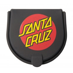 PORTE MONNAIE SANTA CRUZ CLASSIC DOT STASH - BLACK