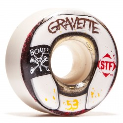 ROUES BONES GRAVETTE WASTED LIFE STF4 - 53MM