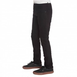 PANTALON VOLCOM 2X4 5 POCKET TWILL - BLACK