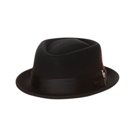 f7806d7d022 Chapeau Brixton Stout Pork Pie - Black