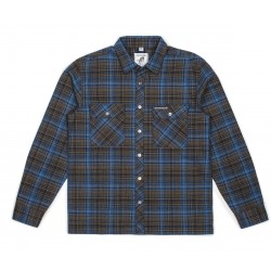 CHEMISE BRIXTON X HARD LUCK RIDER - BLUE/GREEN