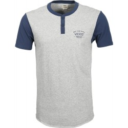 T-SHIRT VANS HITSON - CEMENT HEATHER DRESS BLUE