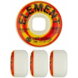 ROUES ELEMENT SHOCKED STREET - 53 MM 101A