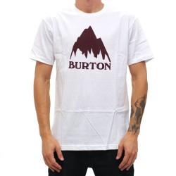TEE SHIRT BURTON STOUT WHITE