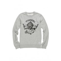 SWEAT ELEMENT TIMBER CR KIDS - GREY HEATHER