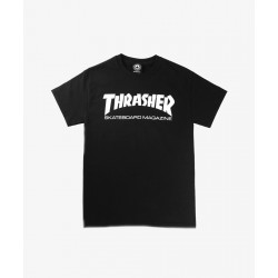 T-SHIRT THRASHER SKATE MAG YOUTH - BLACK