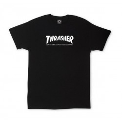 T-SHIRT THRASHER SKATE MAG TODDLER - BLACK