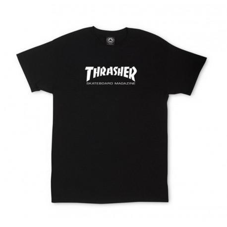 T-SHIRT THRASHER SKATE MAG TODDLER - BLACK