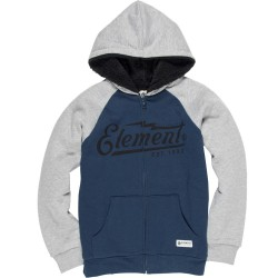 SWEAT ELEMENT WILLOW BOY CAPUCHE SHERPA - INDIGO GRIS