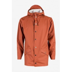 VESTE IMPERMEABLE RAINS - RUST