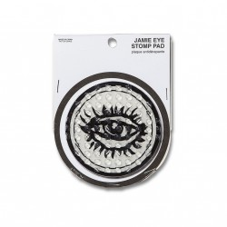 PLAQUE ANTIDERAPANTE VOLCOM JAMIE EYE STOMP PAD - WHITE