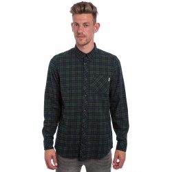 CHEMISE CARHARTT L/S SHAWN CHECK CONIFER RINSED