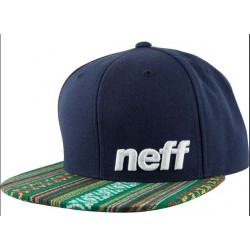 CASQUETTE NEFF DAILLY PATTERN CAP -NAVY NATIVE