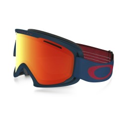 MASQUE OAKLEY O2 XL - NEURON BURNISHED RED - FIRE IRIDIUM