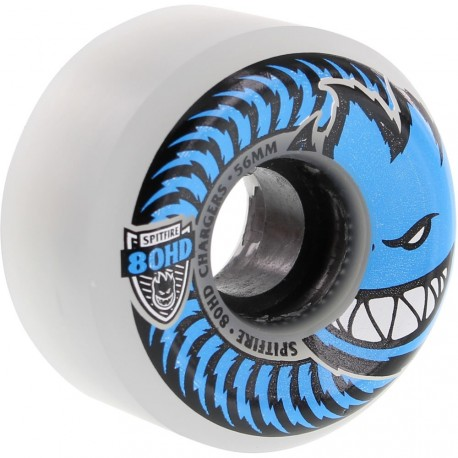 ROUES SPITFIRE CHARGERS CONICAL 80HD 56MM - CLEAR