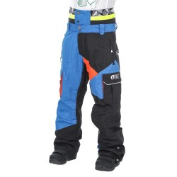 PANTALON PICTURE ORGANIC STYLER PANT -PICTURE BLUE/ BLACK/ ORANGE
