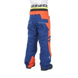 PANTALON PICTURE STYLER - DARK BLUE ORANGE WHITE