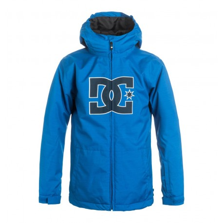 VESTE DC KID SNOWBOARDING STORY YOUTH - NAUTICAL BLUE
