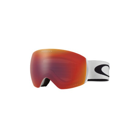 MASQUE OAKLEY FLIGHT DECK - MATTE WHITE PRIZM TORCH