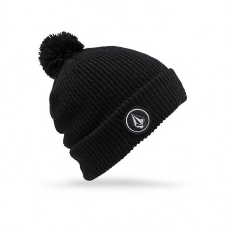 BONNET VOLCOM QUARTER POM KIDS - BLACK