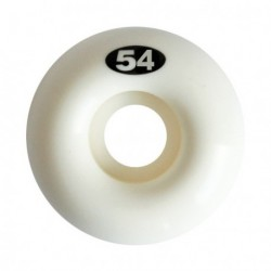 ROUES NAKED WHEELS 54 MM - WHITE