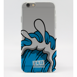 COQUE IPHONE 5 - 5S TEALER X AARON KAI WAVE BLUE