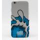 COQUE IPHONE 5C TEALER X AARON KAI WAVE BLUE