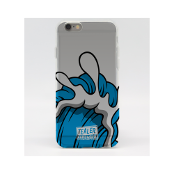 COQUE IPHONE 6 PLUS TEALER X AARON KAI WAVE BLUE