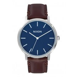 MONTRE NIXON PORTER LEATHER - NAVY BROWN