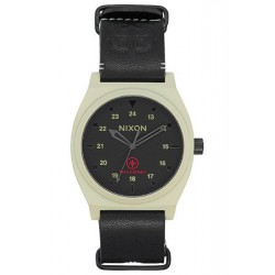 MONTRE NIXON TIME TELLER LTD BONE - BLACK TAKA