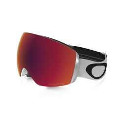 MASQUE OAKLEY FLIGHT DECK XM MATTE WHITE - PRIZM TORCH IRID