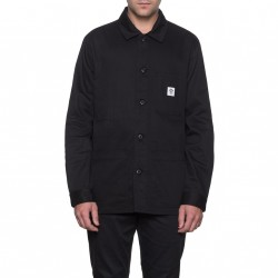 JACKET HUF X THRASHER CHORE - BLACK