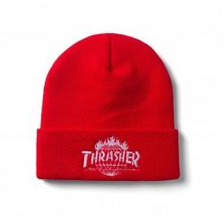 BONNET HUF X THRASHER TDS - RED