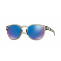 LUNETTES OAKLEY LATCH MATTE GREY INK SAPPHIRE IRIDIUM POLARIZED