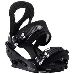 BURTON STILETTO EST FIXATION BLACK/WHITE