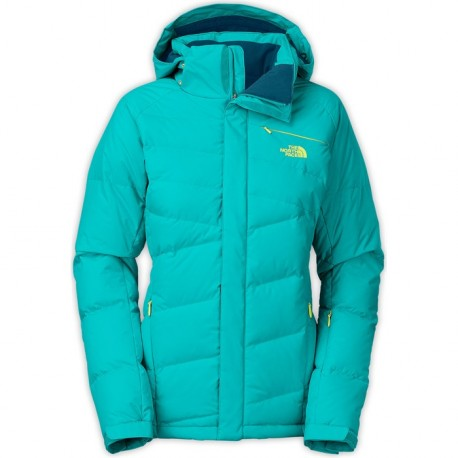 VESTE NORTHFACE HEAVENLY DOWN JACKET - BOREALIS BLUE