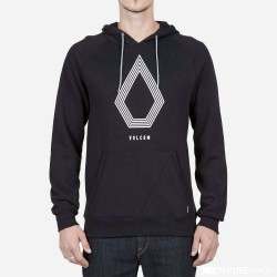 SWEAT VOLCOM STONE PACK HOOD - BLACK