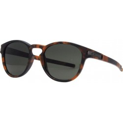 LUNETTES OAKLEY LATCH - MATTE BROWN TORTOISE / DARK GREY