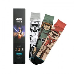 CHAUSSETTES STANCE STARWARS RETURN OF THE JEDI ( 3PAIRES )
