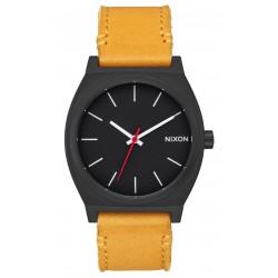 MONTRE NIXON TIME TELLER - ALL BLACK / GOLDENROD
