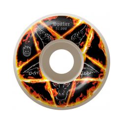 ROUES SPITFIRE PENTAGRAM 52.666MM - WHITE