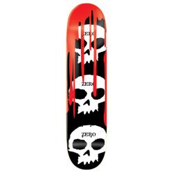 SKATE ZERO 3 SKULL BLOOD BLACK - 7.875