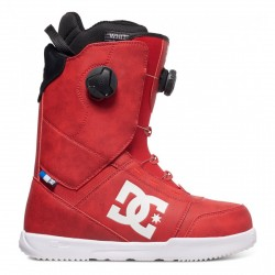 BOOTS DC SNOWBOARDING CONTROL 2017 - RACING RED