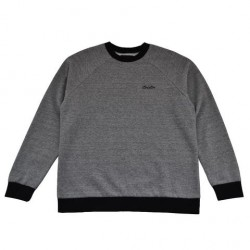 SWEAT BRIXTON TREVOR CREW - HEATHER GREY