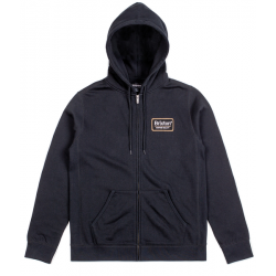SWEAT BRIXTON PALMER ZIP - BLACK