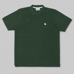 POLO CARHARTT CHASE - FIR WHITE