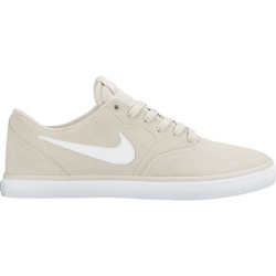 CHAUSSURES NIKE SB CHECK SOLAR - LT BONE / WHITE