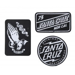 PATCH SANTA CRUZ SCB - BLACK